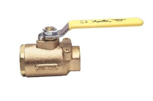 Apollo Conbraco 600# Bronze Threaded Blowout-Proof Stem Full Port Ball Valve with Locking Lever Handle A7714B5