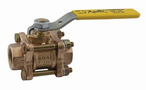 Apollo Conbraco 600# Bronze Threaded Full Port Ball Valve Extension with Lever Handle A82104