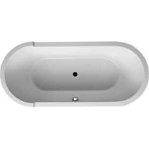 Duravit USA Starck 70-7/8 x 31-1/2 in. Free Standing Center Drain Bath Tub in White D700010000000090