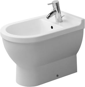 Duravit USA Starck 3 Single Hole Floor Standing Bidet D2230100000
