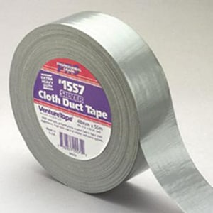 Venture Tape Cloth Duct Tape in Black V1557BK
