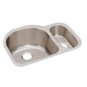 Elkay Harmony™ 26-3/4 x 20 in. Double Bowl Under-Mount Sink EELUH272010R