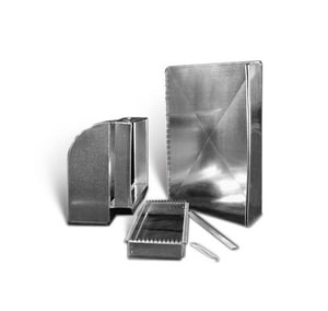 Lukjan Metal Products 25 - 25 x 10 in. Galvanized Return Air Kit SHMRAK25162510