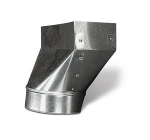 Lukjan Metal Products 14 x 8 in. Straight Boot SHMRBS14X