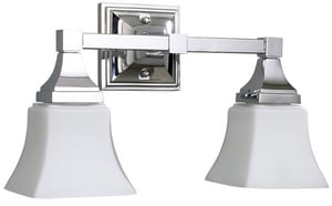 Mirabelle® Cordoba 60W 2-Light Wall Sconce MIRCO2LGT