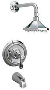 Key West® Tub and Shower Faucet with Single Lever Handle MIRKW1HTS