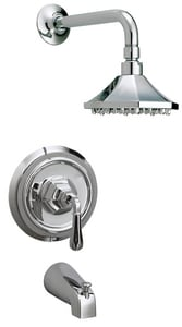 Key West Tub and Shower Faucet with Single Lever Handle MIRKW1HTS