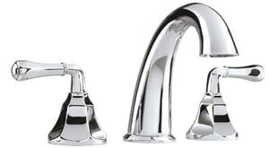 Mirabelle® Key West® 3-Hole Whirlpool Faucet with Double Lever Handle MIRKW3RT