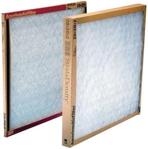 American Air Filter 16 x 25 x 1 in. Fiberglass Air Filter A221600151