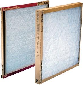 American Air Filter 14 x 25 x 1 in. Fiberglass Air Filter A221375151