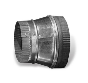 Lukjan Metal Products 14 in. Galvanized Spiral Crimp Tapered Reducer SHMSPTRC1614