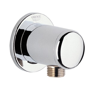 Grohe Relexa® Female Thread Wall Union in Starlight Polished Chrome G28672000