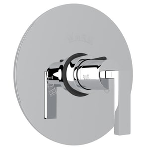 Rohl Wave Round Thermostatic Trim Valve with Single Lever Handle RWA190LTO