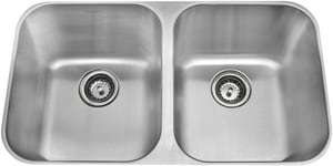 Amerisink 31 x 18 x 10 in. 18 Gauge Undermont Service Sink Chrome AAS101