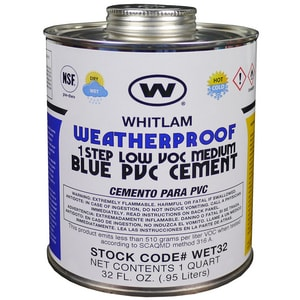 J.C. Whitlam Medium Bodied Cement in Blue WWET