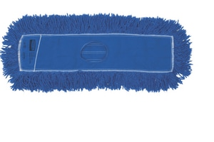 Rubbermaid Heavy Duty Synthetic Dust Mop in Blue RFGJ3500BL00