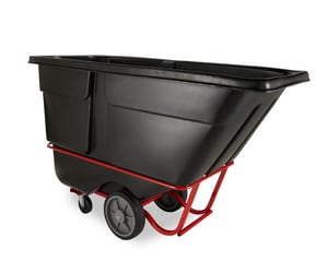 Rubbermaid 72-1/4 in. 2000 lbs. Heavy Duty Tilt Truck in Black RFG131600BLA