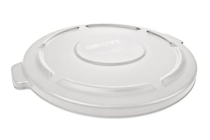 Rubbermaid Brute® 19-9/10 in. 20 gal Container Lid in White RFG261960WHT at Pollardwater