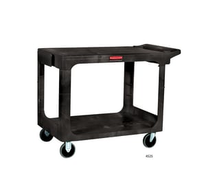 Rubbermaid Flat Shelf Utility Cart RFG452500