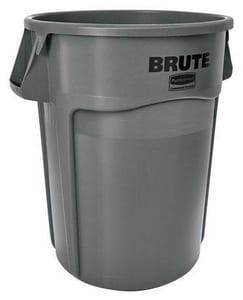 Rubbermaid Brute® 24 in. 44 gal Polyethylene Container RFG264360