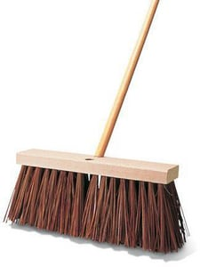 Rubbermaid 16 in. Street Broom RFG9B2200BRN