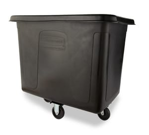 Rubbermaid 43-3/4 in. 500 lbs. Cube Truck in Black RFG461600BLA