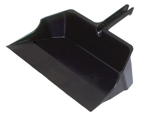 Rubbermaid 22 in. Jumbo Dust Pan with Handle RFG9B6000BLA