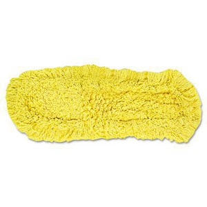Rubbermaid Trapper® 5 in. Dust Mop Loop End in Yellow RFGJ1500YL00