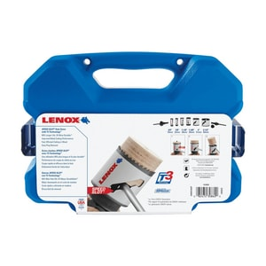 Lenox 9 Piece Hole Saw Plumber Kit L30860C600P