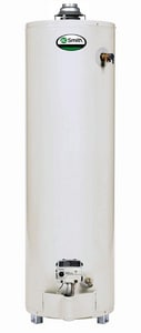A.O. Smith ProMax® 40 gal. 40 MBH Natural Gas Water Heater Aluminum AGCNH4000L010000