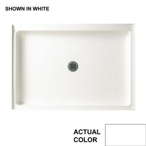 Swan Corporation Veritek® 34 x 48 in. Single Threshold Shower Base in White SFF03448MD010