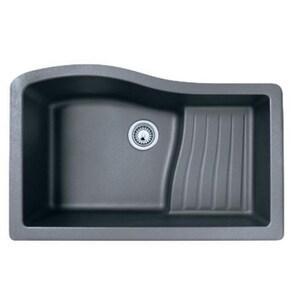 Swan Corporation Veritek® 1-Hole 1-Bowl Kitchen Sink SQU03322AD