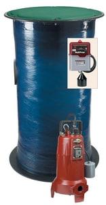 Liberty Pumps Resistant Grinder Package LEPAKLSG