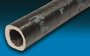 Anco Products 25 ft. Flexible Air Duct Box in Black Polyethylene A4625R8U