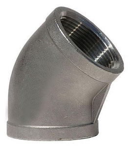 Socket 150# 304L Stainless Steel 45 Degree Elbow IS4CS4