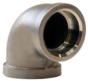 Merit Brass 150# 304L Stainless Steel Socket 90 Degree Elbow IS4CS9