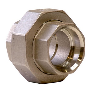 Merit Brass 150# Socket 304L Stainless Steel Union IS4CSU