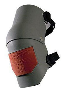 KP Industries Jointed Knee Pad in Grey KKPIII