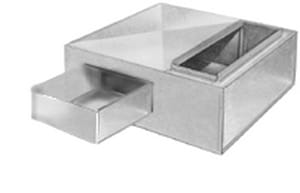 Snappy 30 x 22 in. Return Air Box SNASBF30