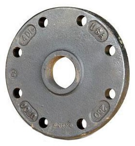 125# Ductile Iron C110 IPT Tap-on-Pipe Blind Flange TAPBFX