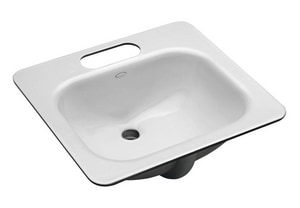 Kohler Tahoe® 3-Hole Rectangular Undermount Bathroom Sink with 4 in. Centerset K2890-4U