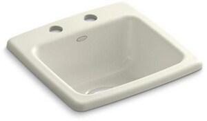 Kohler Gimlet™ 2-Hole Acrylic Bar Sink K6015-2