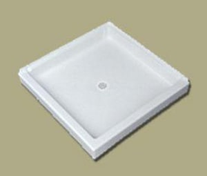 Florestone Saflor® 36 x 36 in. Shower Base F36362WH