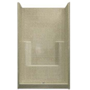 Aquarius Industries Millennia Collection 42 x 42 in. Tile Shower AM4242SHWH