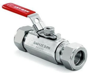 Ham-Let Valves & Fittings 2000 psi 2-Piece 316 Stainless Steel Tube Ball Valve H700SSL12TLD