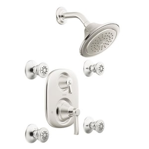 Moen Rothbury™ Vertical Spa Pressure Balancing with Double Lever Handle and Volume Control MTS203
