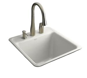 Kohler Sudbury™ 2-Hole Tile-In Utility Sink K6656-2