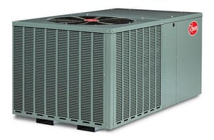 Rheem RQPM Series 2.5 Ton 14 SEER Horizontal R-410A Packaged Heat Pump RQPMA030JK010