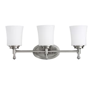 Kichler Lighting Wharton 3-Light Medium Vanity Bath KK5361