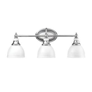 Kichler Lighting Pocelona™ 100W 3-Light Medium Base Incandescent Bath Vanity KK5369
